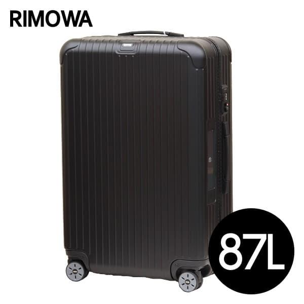 リモワ RIMOWA サルサ 87L マットブラック E-Tag SALSA ELECTRONIC TAG マルチホイール スーツケース 811.73.32.5