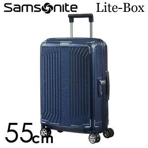 【期間限定ポイント10倍】サムソナイト ライトボックス スピナー 55cm ディープブルー Samsonite Lite-Box Spinner 38L 79297