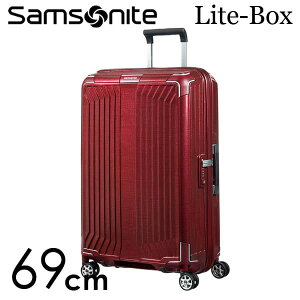 【期間限定ポイント10倍】サムソナイト ライトボックス スピナー 69cm ディープレッド Samsonite Lite-Box Spinner 75L 79299