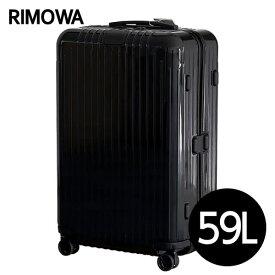 リモワ RIMOWA エッセンシャル ライト チェックインM 59L グロスブラック ESSENTIAL Check-In M スーツケース 823.63.62.4