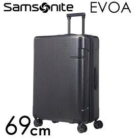 サムソナイト エヴォア スピナー 75cm ブラッシュドブラック Samsonite Evoa Spinner 108L〜124L EXP 111416-6342