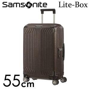【期間限定ポイント5倍】サムソナイト ライトボックス スピナー 55cm ウォールナット Samsonite Lite-Box Spinner 38L 79297-1902