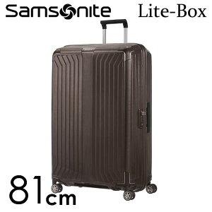 【期間限定ポイント10倍】サムソナイト ライトボックス スピナー 81cm ウォールナット Samsonite Lite-Box Spinner 124L 79301-1902