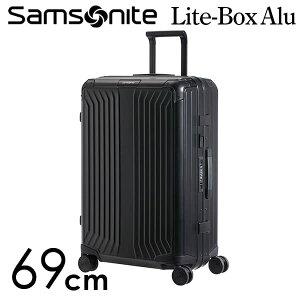 【期間限定ポイント10倍】サムソナイト ライトボックス アル スピナー 69cm ブラック Samsonite Lite Box Alu Spinner 71L 122706-1041