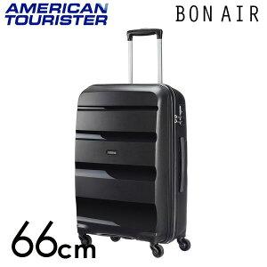 【期間限定ポイント10倍】サムソナイト アメリカンツーリスター ボンエアー 66cm ブラック American Tourister Bon Air Spinner 57.5L
