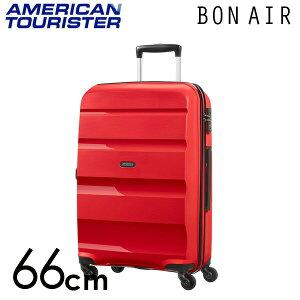 【期間限定ポイント10倍】サムソナイト アメリカンツーリスター ボンエアー 66cm マグマレッド American Tourister Bon Air Spinner 57.5L