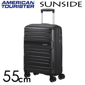 【期間限定ポイント10倍】サムソナイト アメリカンツーリスター サンサイド 55cm ブラック American Tourister Sunside Spinner 35L