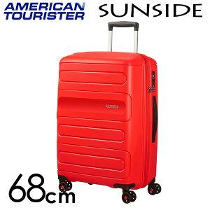 【期間限定ポイント10倍】サムソナイト アメリカンツーリスター サンサイド 68cm サンセットレッド American Tourister Sunside Spinner 72.5L〜83.5L EXP【送料無料(一部地域除く)】