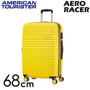 【期間限定ポイント10倍】サムソナイト アメリカンツーリスター エアロレーサー スピナー 68cm レモンイエロー Samsonite American Tourister Aero Racer Spinner 66.5L〜75.5L EXP 116989-B038