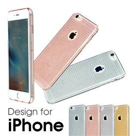 ROCK FLA iPhone SE/5/5s/6/6s/6 Plus/6s Plus キラキラ クリアケース シリコン ケース クリアカバー 透明カバー 透明カバー iphonese iphone5 iphone6 アイフォン6 アイフォンSE SE 6Plus 柔軟 耐衝撃 すべり止め 高耐久性 05P01Oct16