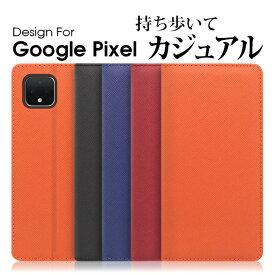 LOOF Casual Google Pixel 4 XL カバー 手帳型 Pixel4 XL ケース Pixel3a 手帳型カバー Pixel3 手帳型ケース グーグル ピクセル スマホケース 左利き 右利き 財布型 財布型ケース ベルト無し カード収納 スタンド 左 蓋ピタ ベルト無し