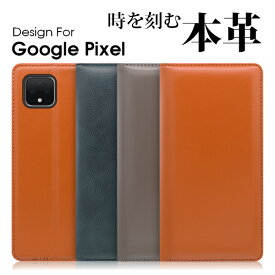 LOOF Simplle Google Pixel 4 XL ケース 手帳型 Pixel4 XL カバー 本革 Pixel3a 手帳型カバー Pixel3 手帳型ケース 左利き 右利き ベルト無し 磁石無し グーグル ピクセル スマホケース 高品質 カード収納 蓋ピタ シンプル ブック型カバー ブック型
