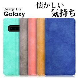 LOOF Vintage Galaxy A41 S20 Ultra ケース S10 S10+ 手帳型 カバー A20 手帳型カバー S9 手帳ケース A7 A30 SCV43 ギャラクシー スマホケース SC-03L SC-04L SC-01L SC-02K SCV38 S8 Note8 S7edge S8+ S9+ Feel Feel2 SC-02L S6 edge S5 ブック型カバーブック型