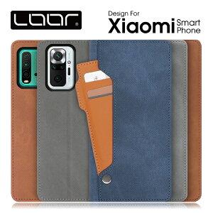 LOOF Storage Xiaomi 11T Pro Redmi Note 10 JE XIG02 Mi 11 lite 5G Redmi Note 10 Pro Note 9T Mi Note 10 Lite 手帳型ケース Note 9S シャオミ ケース 手帳型 カバー 手帳型カバー スマホケース カードポケット カードホルダ