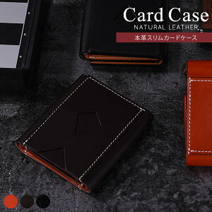 カードケース 本革 スリム カード入れ レシート入れ チケット入れ レザー 薄型 革 コンパクト ポケット ポイントカード クレジットカード 収納 薄い 小さい レディース メンズ