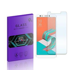 ■ZenFone5Q ZC600KL 強化ガラスフィルム 液晶 保護フィルム 液晶保護シート 2.5D 硬度9H ラウンドエッジ加工