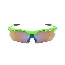 ROCKBROS(ロックブロス)偏光サイクリングバイクメガネスポーツサングラスゴーグルグリーン5枚レンズ超軽量交換レンズ付き紫外線カット05P20Nov15