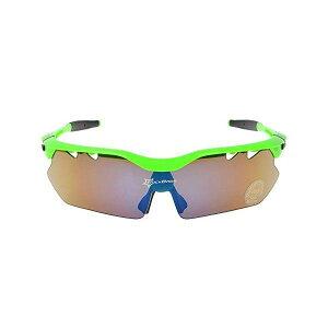 スポーツサングラス 偏光 交換レンズ5枚付 グリーン ROCKBROS(ロックブロス)【紫外線対策】