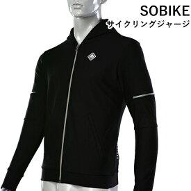 SOBIKE サイクリングジャージ パーカー ジャケット 長袖 スポーツ 冬用 防風 Liebaoジャケット