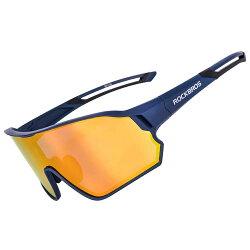 ROCKBROS(ロックブロス)スポーツサングラス偏光レンズ調光サングラス超軽量紫外線カットゴルフ自転車5枚専用交換レンズ収納ポーチ付きユニセックス