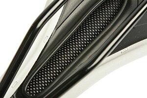 ROCKBROS(ロックブロス)サイクリングマウンテンロードバイクスチールレールシートサドル色:ブラック/ブラウン/白