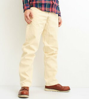 Stanley Stanley Stan Ray Karen Earls apparel Earl's Apparel gung ho GUNG HO work pants men's brand blue denim Hickory stripe casual work military made in the USA (NATURAL / natural) (23-STR001)