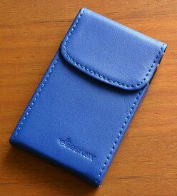 ダルトン DULTON ボノックス BONOX カードケース 名刺入れ レザー 本革 カジュアル メンズ レディース ユニセックス 男性用 女性用 男女兼用 プレゼント ギフト カラフル ポップ パステル (ROYAL BLUE/ロイヤルブルー)(18-S62102)