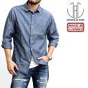 ボーノシャツ Bouno Shirt ジャパンブルージーンズ JAPAN BLUE JEANS 長袖 メンズ 男性 ブランド 日本製 国内生産 小襟 シャツ コート…