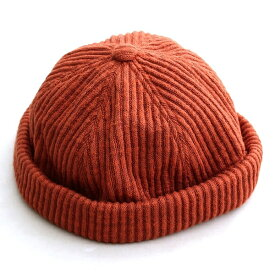 ニット フィッシャーマンキャップ ベーシックエンチ BASIQUENTI リバーアップ RIVER-UP メンズ レディース ブランド つば無し 帽子 キャップ ニット帽 リブ編みニット ショートワッチ 無地 カジュアル アメカジ ブラック ブラウン ネイビー オリーブ オレンジ (09-bcku90451)