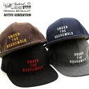 ウェルテイラード Well-Tailored 帽子 キャップ BBキャップ メルトン ウール 刺繍 ベースボールキャップ フリーサイズ メンズ レディー…