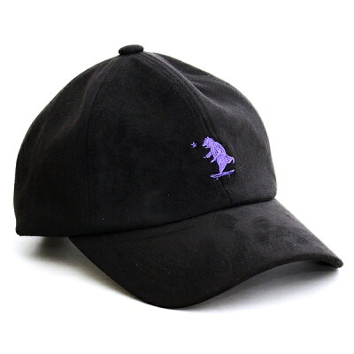 メンズレディースウェルテイラードWell-Tailored帽子ブランドローキャップ刺繍プッシュベアークマシンセティックスエード6パネルツバ長め被り心地抜群フリーサイズおしゃれカジュアルアメカジ綺麗めブラックキャメルカーキネイビー(07-kkc292)