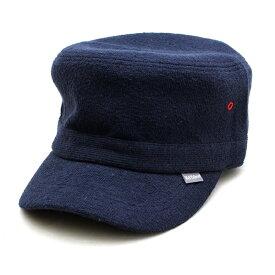 ウェルテイラード Well-Tailored 帽子 メンズ レディース ブランド ワークキャップ コットン パイル タオル生地 無地 フリーサイズ 大きいサイズ サイズ調節可能 シンプル カジュアル アメカジ おしゃれ ブラック グレー ネイビー 定番アイテム (07-kkc120)