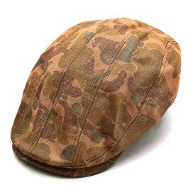 ウェルテイラード Well-Tailored 帽子 ハンチング 8パネル メンズ レディース ブランド カジュアル アメカジ トラッド ワーク ミリタリー ルード ヴィンテージ カモフラージュ 迷彩 (07-kku016)