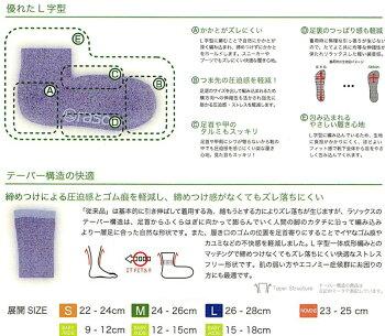 rasox[ラソックス]サンダル・フィッティ(全4色)靴下男性用女性用メンズレディースサブマテリアル服飾雑貨カジュアル日本製【正規品・正規取扱店】(66-CA101SN04)