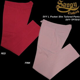 SAVOY CLOTHINGサボイクロージング◆SVY L Pocket Slim Tailored Pants◆SVY-TPT010