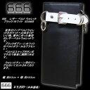 666トリプルシックス◆666 レザー ベルト ウォレット◆◆ブラック/ホワイト◆SOA604