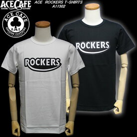 ACE CAFEエースカフェ◆ACE ROCKERS T-SHIRTS◆A11502