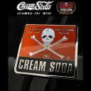 ◆CREAM SODAクリームソーダCS 45周年ループタイ角ドクロ