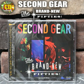 JOHNNY KOOLジョニークール◆CD SECOND GEAR◆◆BRAND NEW FIFTIES !◆JKRF-6124
