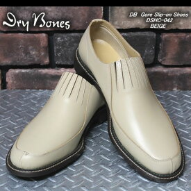 DRY BONESドライボーンズ◆DB Gore Slip-on Shoes◆◆BEIGE◆DSHC-042BEIGE