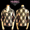 MB ALL OVER ARGYLE BLOUSE PINK