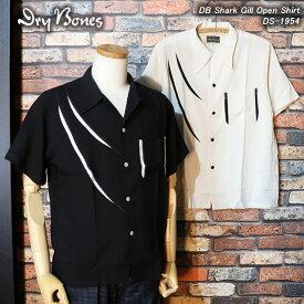 DRY BONESドライボーンズ◆DB Shark Gill Open Shirt◆DS-1954