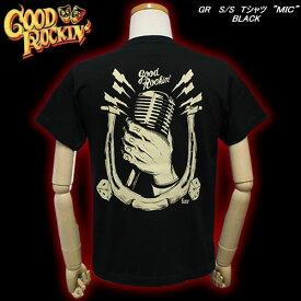 ★Good Rockin'グッドロッキンS/S TシャツMICBLACK