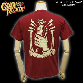 ★Good Rockin'グッドロッキンS/S TシャツMICBURGUNDY