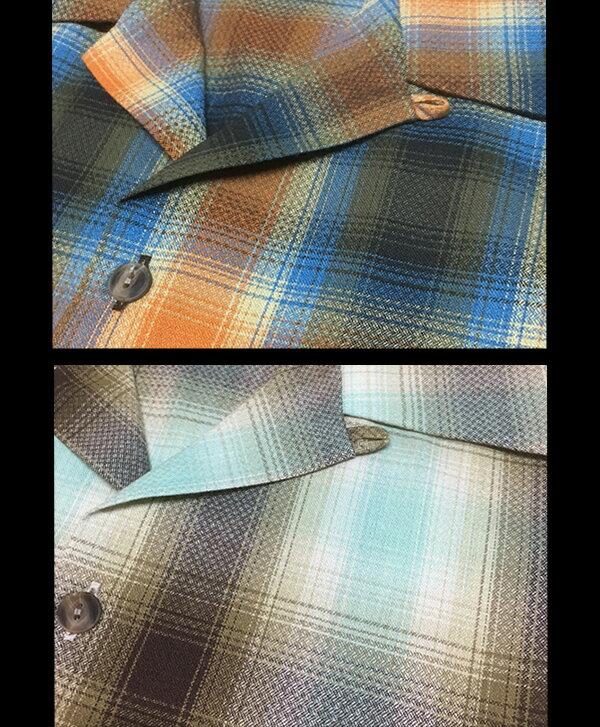 チーティングラウンジ/ドビーオンブレオープンシャツ