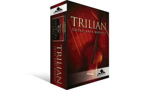 【クーポン配布中!】SPECTRASONICS(スペクトラソニックス) Trilian (USB Drive)【DTM】【ベース音源】 【在庫限り特価!】