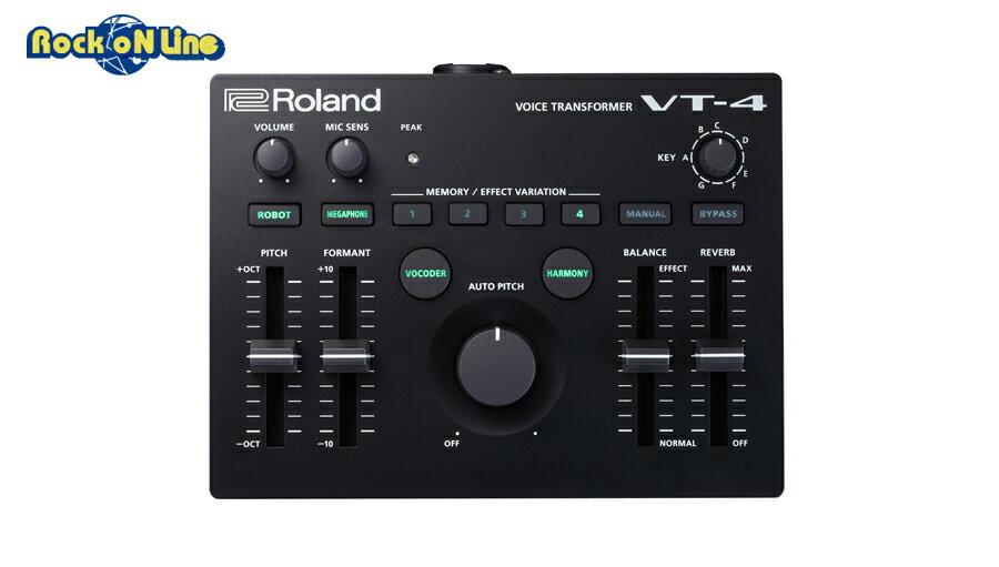 【クーポン配布中!】ROLAND(ローランド) VT-4【人気商品につき次回入荷未定(2019年9月以降)。ご予約受付中】