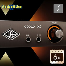 Universal Audio(ユニバーサルオーディオ) APOLLO x6【DTM】【オーディオインターフェイス】