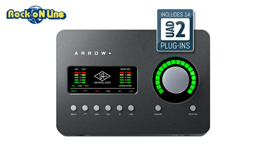 【クーポン配布中!】Universal Audio(ユニバーサルオーディオ) ARROW【DTM】【オーディオインターフェイス】【エフェクトプラグイン】【ギター】