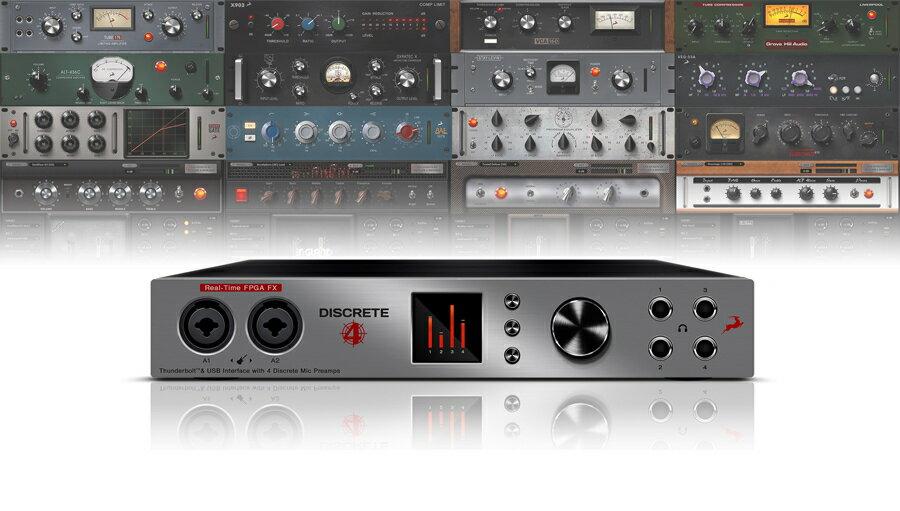 【クーポン配布中!】Antelope Audio(アンテロープオーディオ) Discrete 4 with Basic FX collection【DTM】【オーディオインターフェイス】
